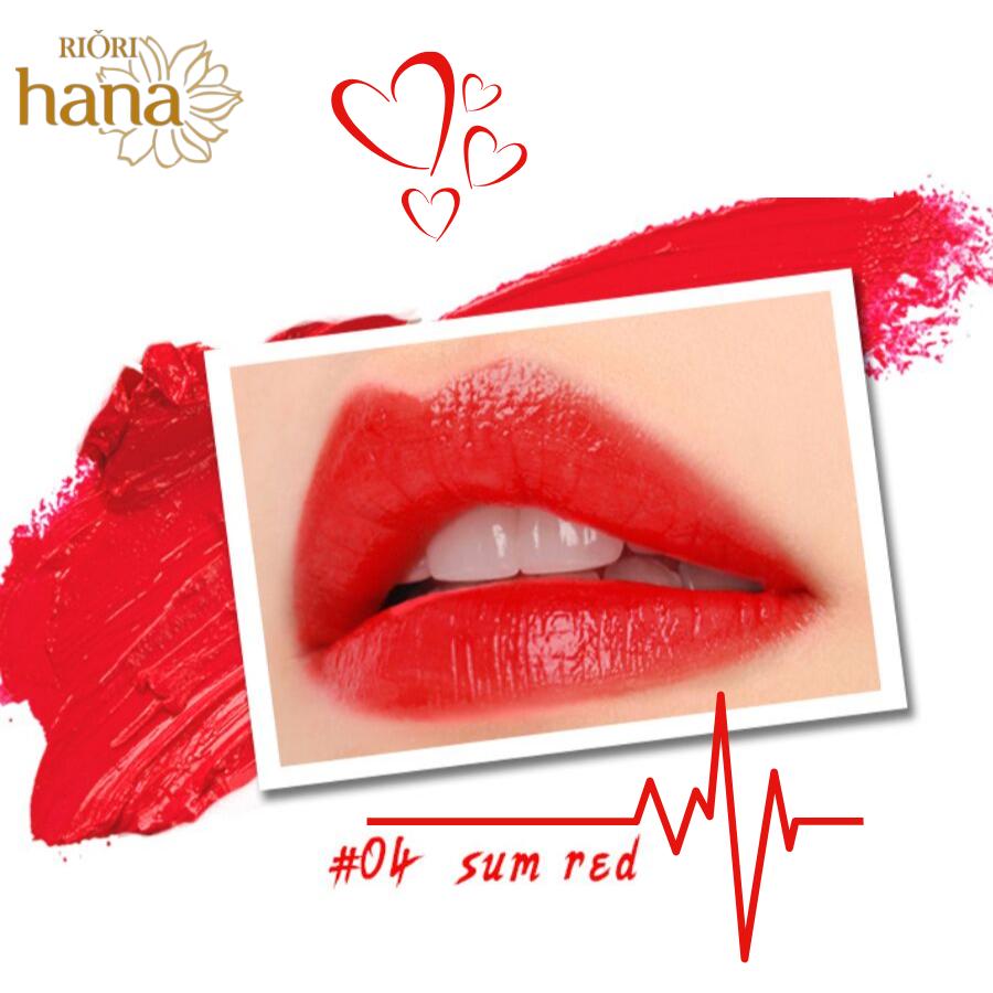 #M04 - Sum Red: Son môi màu đỏ đậm