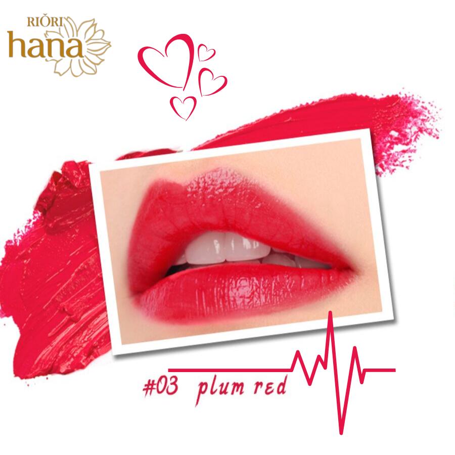 #M03 - Plum Red: Son môi màu đỏ mận