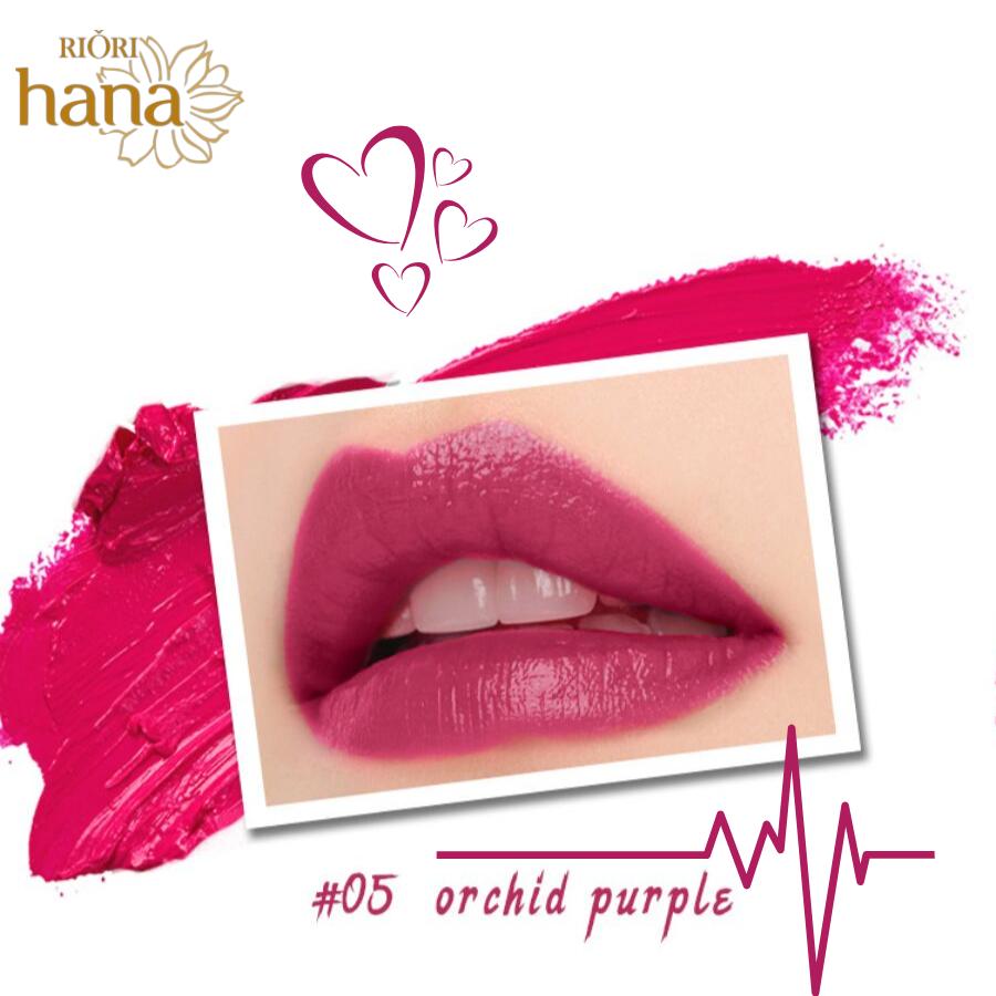 #M05 - Orchid Purple: Son môi màu hồng đậm