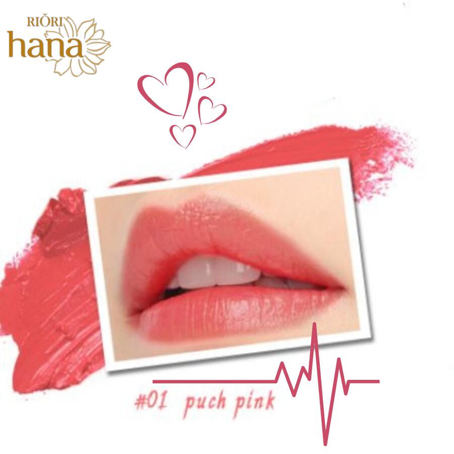 #M01 - Puch Pink: Son môi màu hồng nhạt