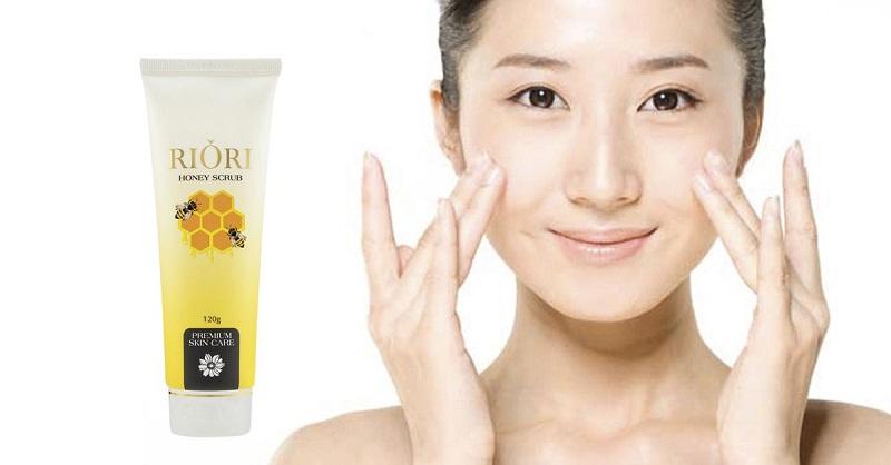 Tẩy tế bào chết Riori Honey Scrub làm sạch da chết hiệu quả