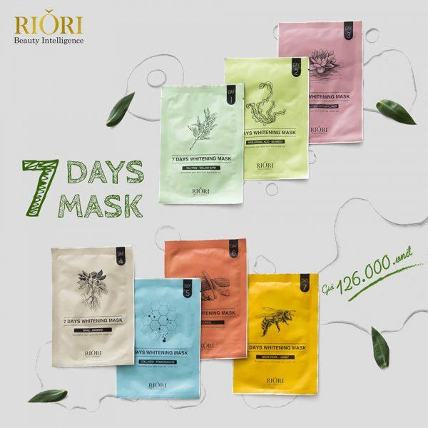 Mặt nạ 7 ngày Riori 7 Days Mask