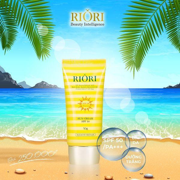Kem chống nắng toàn thân Riori Sun Cream