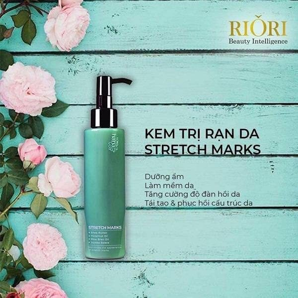Kem trị rạn da Riori Stretch Marks