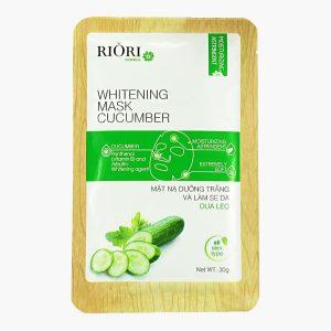 Mặt nạ dưỡng trắng da dưa leo Riori Mask Cucumber