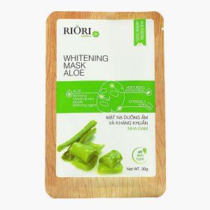 Mặt nạ dưỡng trắng da nha đam Riori Mask Aloe
