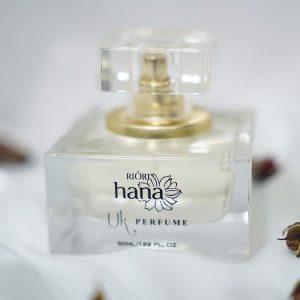 Mẫu chai nước hoa nữ Riori Uk Perfume đơn giản mà tinh tế